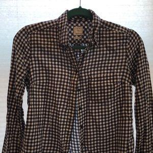 Gap checkered blouse